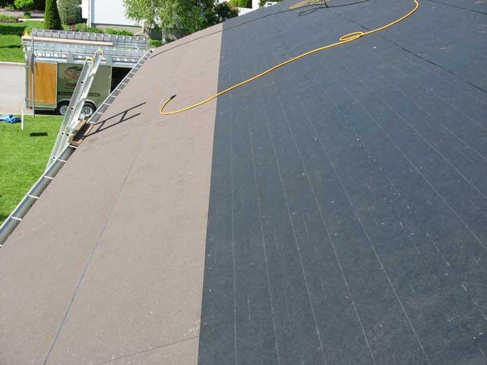 Papier noir toiture